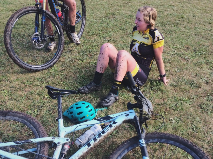 pooped after a tough race
